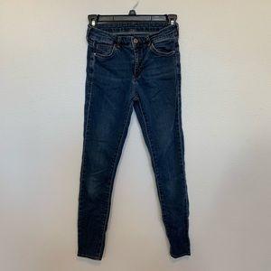 Dark Wash TopShop Jeans
